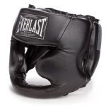 Шлем боксерский Everlast Martial Arts Leather Full Face (7620U)